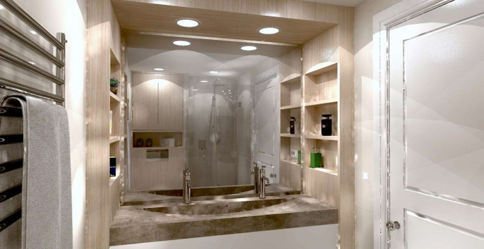 bathroom custom design