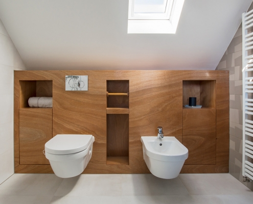 bathroom attic design