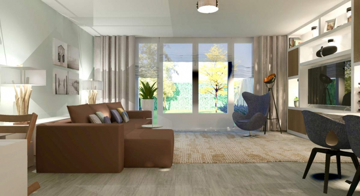 living room custom design